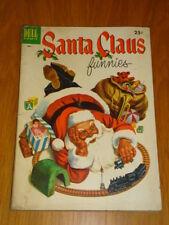 SANTA CLAUS FUNNIES #1 VG (4.0) 1952 DELL GIANT CHRISTMAS COMIC F