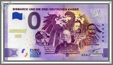 Billet Touristique Souvenir 0 euro Bismarck Deutschen Kaiser 2020 Anniversary
