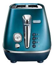 NEW Delonghi Distinta Flair 2 slice toaster - Prestige Blue CTI2003BL