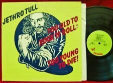JETHRO TULL Too Old To Rock n Roll   LP Vinyl Record Album  ori 70's record club