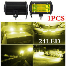 1Pcs 5Inch CREE LED 72W Flood Work Light Bar SUV Offroad Driving Lamp 12V 24V