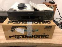 7 TETE Enregistreur S-VHS Panasonic nv-hs900eg avec FB / BDA / sous emballage