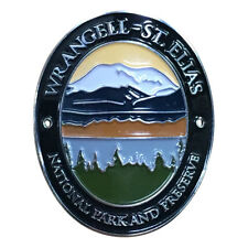 Wrangell – St. Elias National Park Walking Hiking Stick Medallion - Alaska