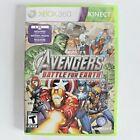 Marvel Avengers Battle for Earth Xbox 360 Kinect Battle Captain America Hulk