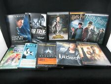 10 Dvd Lot Sci-Fi Fantasy Tomb Raider, Lotr, Star Trek, Harry Potter, Doctor Who