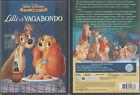 """DVD WALT DISNEY """"LILLI E IL VAGABONDO"""" Z8 34688 Distribuzione WARNER HOME VIDEO"""