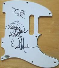 AUTOGRAPHED SIGNED PICKGUARD: La Bamba Movie Cast Lou Diamond Phillips +3