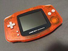 Game Boy Advance - Fire Orange - Nintendo Handheld System