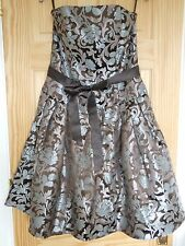 Jessica McClintock Dress - UK 8-Cocktail Party-Prom- 50's- Satin Feel- Wedding