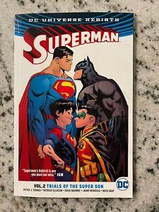Superman V 2 Trials Of The Super Son DC Comics TPB Graphic Novel Comic Book J587