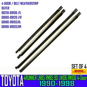 FOR TOYOTA HILUX 4RUNNER LN85 LN106  WINDOW GLASS SEAL OUTER BELT WEATHERSTRIP