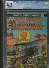 MILITARY SECTION: SGT. FURY AND HIS HOWLING COMMANDOS # 121 CGC 4.5