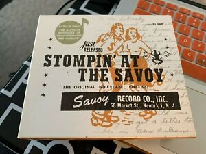 Stompin' At The Savoy: The Original Indie Label (1944-1961) by Various (CD, 2004