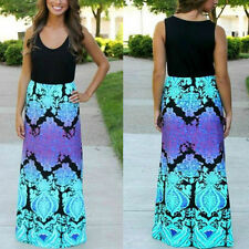 NEW Maxi Boho Summer Holiday Long Party Dress Size S