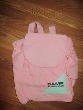 """Vintage Pink Camp Beverly Hills Backpack 18"""" x 15""""*"""