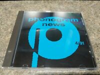 Various - Phonogram News 4/91 CD Promo Import Elton John Quartz Bon Jovi More