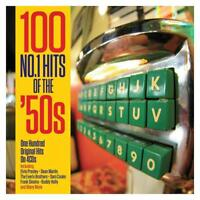 100 NO.1 HITS OF THE 50S - ORIGINAL HITS - VARIOUS ARTISTS (NEW SEALED 4CD)