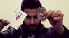 Download Video - Fusion by Zolo Magic Trick Coin & Card Close Up Street Parlor