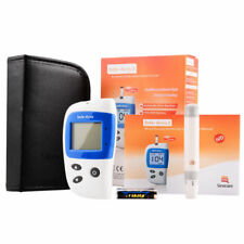 Mini Blood Glucose No Coding Monitor Test Meter Kit 50 Strips Lancets Glucometer