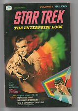GOLDEN PRESS  STAR TREK  THE ENTERPRISE LOGS  VOL 3  1977  GOLD KEY COMICS