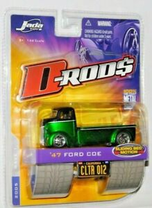 JADA TOYS D-RODS 1947 FORD COE CAR HAULER SLIDING BED COLLECTOR #12