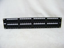 Belkin CAT5 Patch Panel 48 Ports Belkin 1R72 Wiring T568A&B E178881