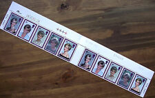 Diana Princess of Wales Commemoration 1997 Mint Stamps Gutter Strip of Top 10