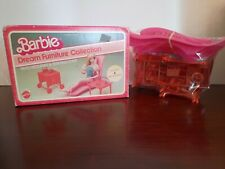 Barbie Dream Furniture Collection PATIO RECLINER & SERVING CART1982 Mattel NIB
