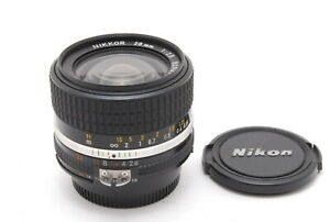 【MINT】Nikon Nikkor Ai-s Ais 28mm f/2.8 Wide Angle MF Lens From JAPAN