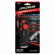 NEW Life+Gear Stormproof Crank Radio Light By Anaconda