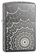 Zippo Web All Over Spinnennetz 5 Seiten mit Motiv 2003855 Neu Feuerzeug Blackice