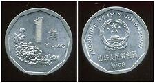 CHINE  1 jiao 1998