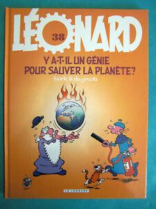 BD LEONARD Y A-IL UN GENIE POUR SAUVER LA PLANETE TURK & DE GROOT LE LOMBARD