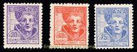 EBS Spain España 1942 - St. John of the Cross - 898-900 MNH**