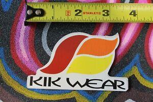 KIK WEAR Clothing Dance 90's Skateboarding Street Urban M1 MISC MUSIC STICKER