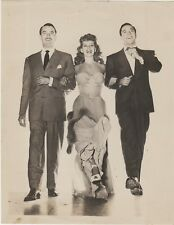 1944 Columbia Photo of Rita Hayworth, Gene Kelly, Lee Bowmen In Cover Girl. ,