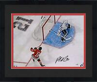 Frmd Alex DeBrincat Chicago Blackhawks Signed 16 x 20 Goal Against Toronto Photo