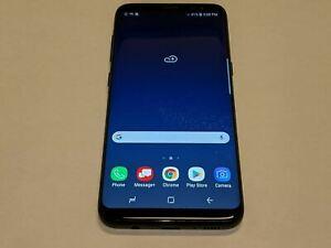 Samsung Galaxy S8 SM-G950U Midnight Black 64GB Verizon Wireless Smartphone