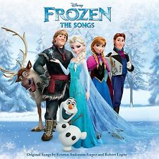 FROZEN - THE SONGS (BRAND NEW SEALED ORIGINAL SOUNDTRACK CD)