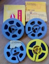 4 Vintage 8mm Movie Films (Exposed)