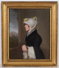 """Daniel Caffé the Elder-Attrib. """"Portrait of Frau Cunradi"""", fine pastel"""