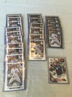 Kris Bryant Chicago Cubs Rookie Baseball Card Lot Of 22 Bowman Chrome Topps