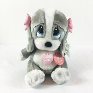 "A26 Dakin Sad Same Talking I Love You Honey Dog Plush! 13"" Stuffed Toy Lovey"