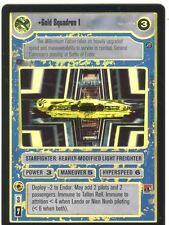 Star Wars CCG Reflections II Foil Gold Squadron 1
