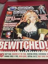 Sega Saturn Magazine ISSUE 34 August 1998 bewitched Dreamcast Exclusive USED