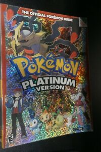 Pokemon Platinum Official Strategy Guide DS w/ Poster