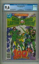 Green Lantern 100 (CGC 9.6) White pgs; 1st app. Air Wave II; DC; 1978 (c#24939)