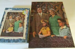 """VINTAGE TUCO INTERLOCKING PUZZLE OVER 250 PIECES"""" GIVE US THIS DAY"""" Complete"""
