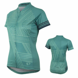 Pearl Izumi Women's LTD MTB Jersey Medium Hex Viridian Green