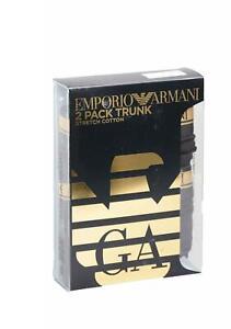 Emporio Armani Mens 111210-9A598 Boxer In Black